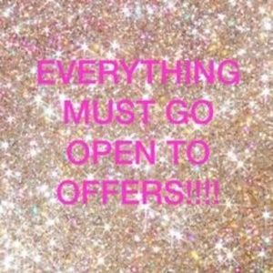 Everything must go! Help me clean out my closet!
